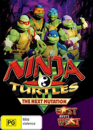 Ninja Turtles : The Next Mutation - East Meets West -Volume 1 - Richard Yee