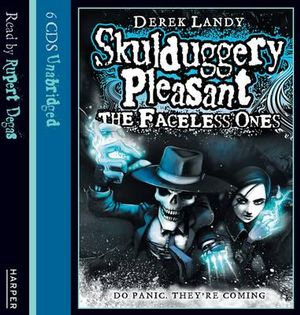 The Faceless Ones : Skulduggery Pleasant : Book 3 : Unabridged CD :  The Faceless Ones - Derek Landy