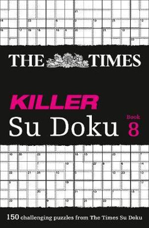 Times Killer Su Doku Book 8 - The Times Mind Games