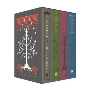 The Hobbit & The Lord of the Rings : 4 x Books in 1 x Boxed Set - J.R.R. Tolkien
