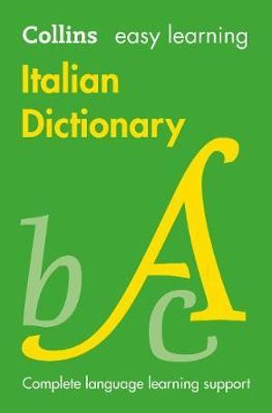 Easy Learning Italian Dictionary : COLLINS EASY LEARNING - Collins Dictionaries