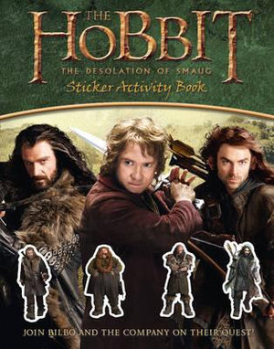 The Hobbit : The Desolation of Smaug Sticker Activity Book