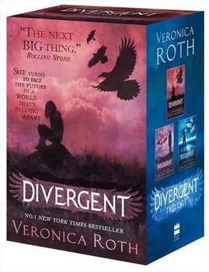 Divergent Series Boxed Set (Books 1-3) : Includes: DIVERGENT, INSURGENT and ALLEGIANT  - Veronica Roth