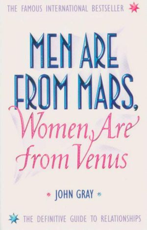 men from mars women are from venus john gray first print - photo #4