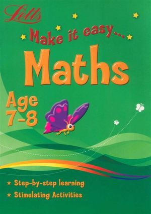 Maths : Letts Make It Easy - Age 7-8 - Harper Collins