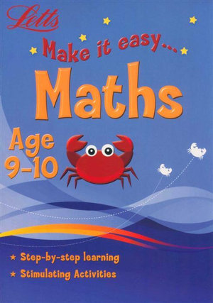Maths  : Letts Make It Easy - Age 9-10 - Harper Collins