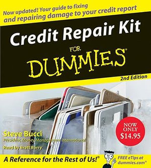 Credit Repair Kit for Dummies : For Dummies (Lifestyles Audio) - Stephen R Bucci