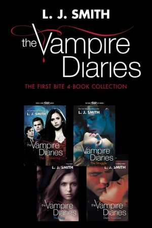 Vampire Diaries: The First Bite 4-Book Collection : The Awakening, The Struggle, The Fury, Dark Reunion - L. J. Smith
