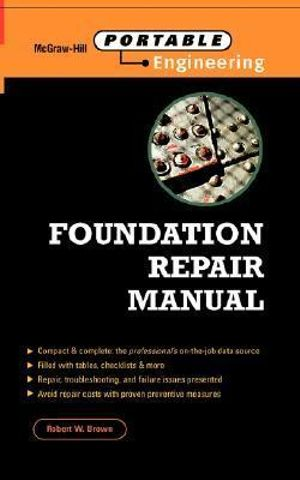 Foundation Repair Manual - Robert Wade Brown