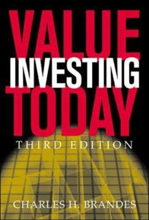 Value Investing Today Charles H. Brandes