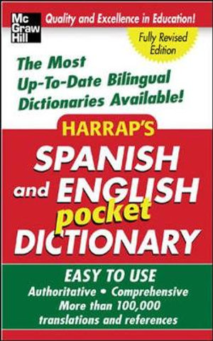 Harrap's Spanish and English Pocket Dictionary : Harrap's Dictionaries - McGraw-Hill