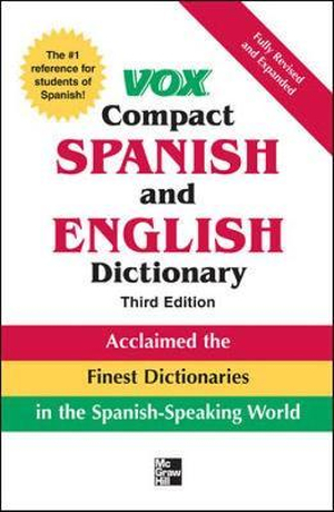 Vox Compact Spanish and English Dictionary - Vox