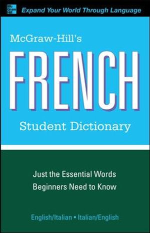 McGraw-Hill's French Student Dictionary - Jacqueline Winders