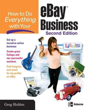 How to Do Everything with eBay (How to Do Everything) Greg Holden