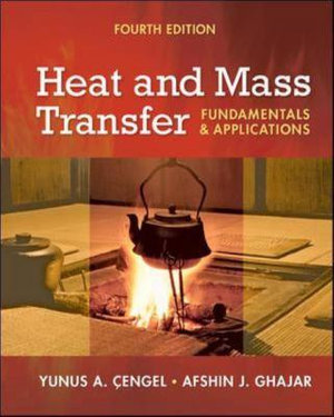 Heat and Mass Transfer : Fundamentals and Applications + EES DVD for Heat and Mass Transfer : 4th edition - Yunus A. Cengel