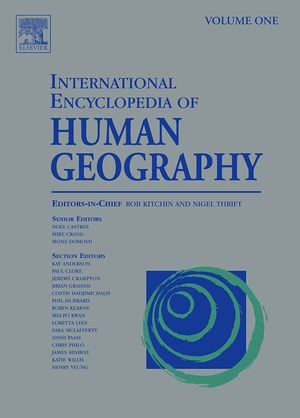 International Encyclopedia of Human Geography : A 12-Volume Set - Nigel Thrift