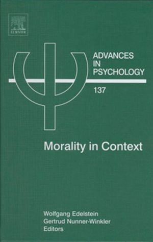 Morality in Context - Wolfgang Edelstein