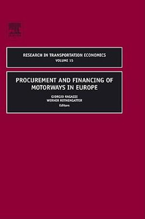 Procurement and Financing of Motorways in Europe - Giorgio Ragazzi