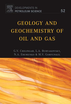 Geology and Geochemistry of Oil and Gas - L. Buryakovsky
