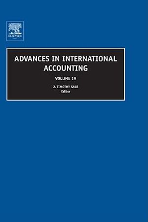 Advances in International Accounting - J. Timothy Sale