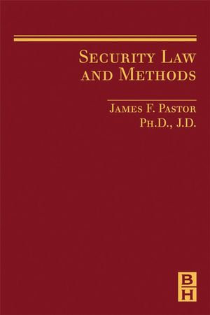 Security Law and Methods - James Pastor
