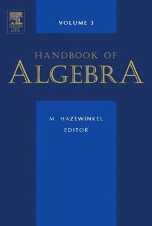 Handbook of Algebra - UNKNOWN AUTHOR