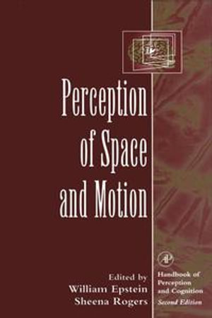 Perception of Space and Motion - William Epstein