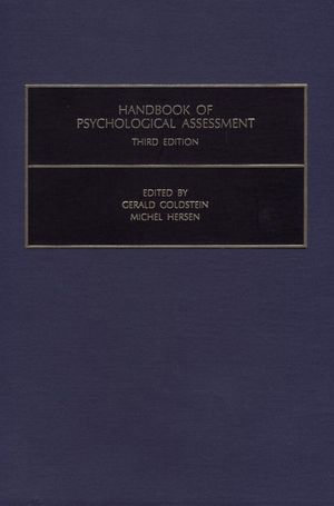 Handbook of Psychological Assessment - G. Goldstein