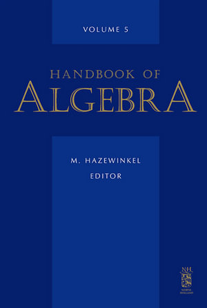 Handbook of Algebra - M. Hazewinkel