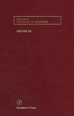 Advances in the Study of Behavior - Peter J.B. Slater