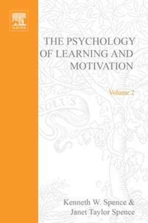 PSYCHOLOGY OF LEARNING&MOTIVATION : V.2: V.2 - UNKNOWN AUTHOR