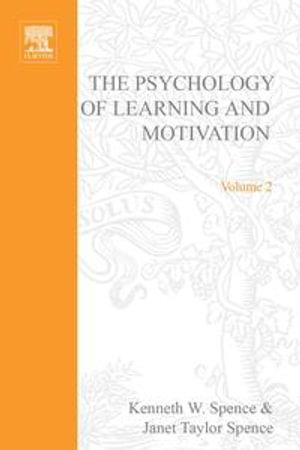 PSYCHOLOGY OF LEARNING&MOTIVATION : V.2: V.2 - Gerard Meurant