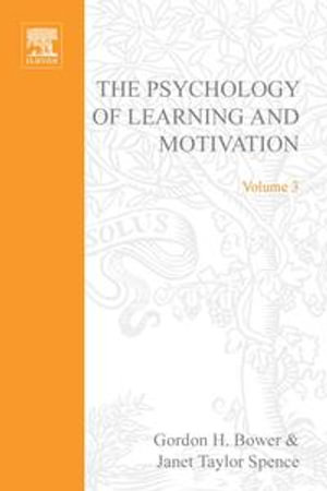 PSYCHOLOGY OF LEARNING&MOTIVATION : V.3: V.3 - Gerard Meurant