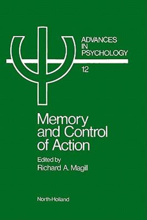 Memory and control of action - UNKNOWN AUTHOR