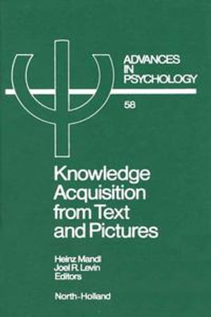 Knowledge Acquisition from Text and Pictures - H. Mandl