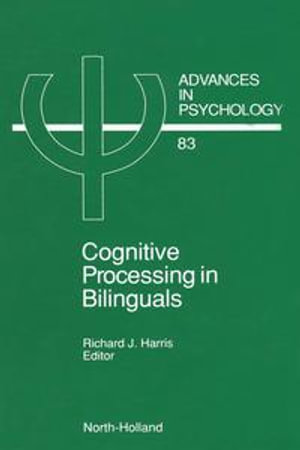 Cognitive Processing in Bilinguals - R.J. Harris