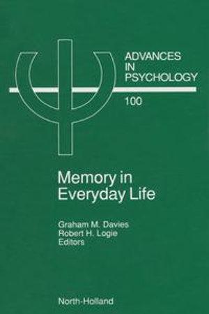 Memory in Everyday Life - G.M. Davies