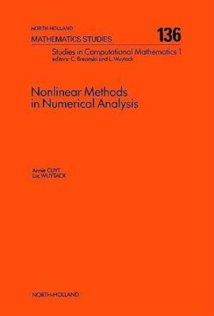 Nonlinear Methods in Numerical Analysis - A. Cuyt