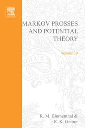Markov processes and potential theory : By R.M. Blumenthal and R.K. Getoor - P Ge