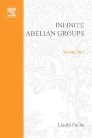 Infinite Abelian Groups, Volume 1 - Gerard Meurant