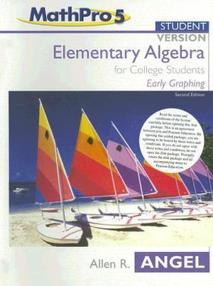Mathpro5 Student Version :  Early Graphing - Allen R. Angel
