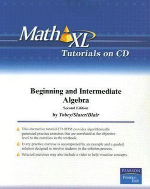 MathXL Student CD : Math XL - John S. Tobey