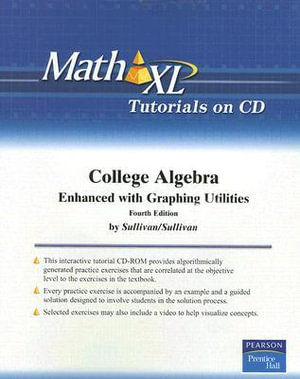 Math Xl :  Enhanced with Graphing Utilities - Michael Sullivan