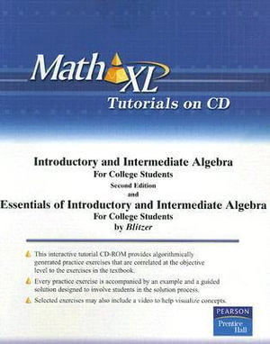 Introductory and Intermediate Algebra : AND Essentials of Introductory and Intermediate Algebra for College Students - Robert Blitzer