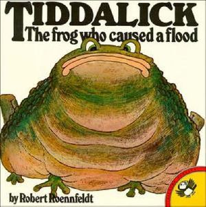 Tiddalick the Frog Who Caused a Flood : Picture Puffin S. - Robert Roennfeldt