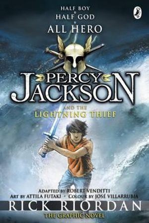Booktopia Percy Jackson And The Lightning Thief The Graphic Novel By Rick