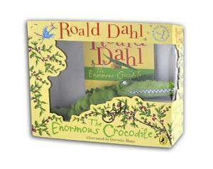 The Enormous Crocodile : Book and Plush Toy Gift Set - Roald Dahl