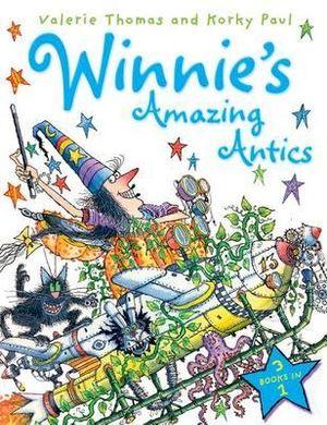 Winnie's Amazing Antics 3-in-1 : Winnie The Witch - Valerie Thomas