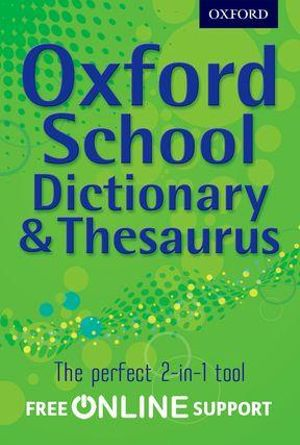 ... School Dictionary and Thesaurus (9780195568844) - buy book online at