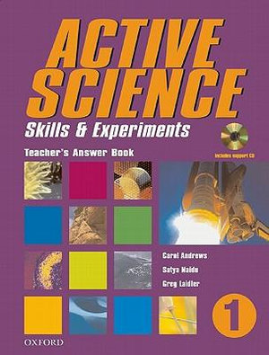 Active Science 1 Teacher's Answer Book Plus CD : Teacher's Answer Book Plus CD - Andrews